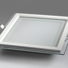 12W glass square