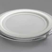 18W Round Glass Panel Led Light With High Quality And Low Price