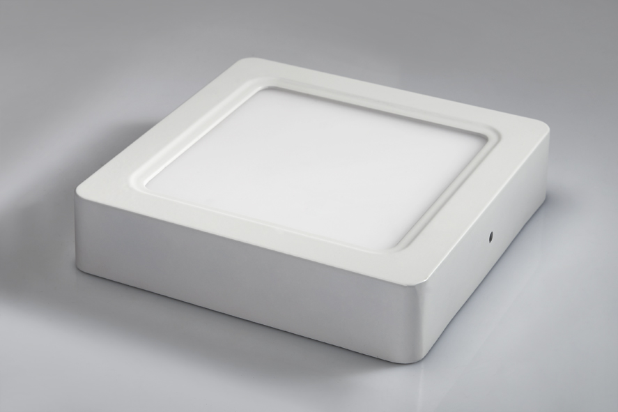 Popp High Quality 12w Surface Mounted Led Ceiling Square Panel