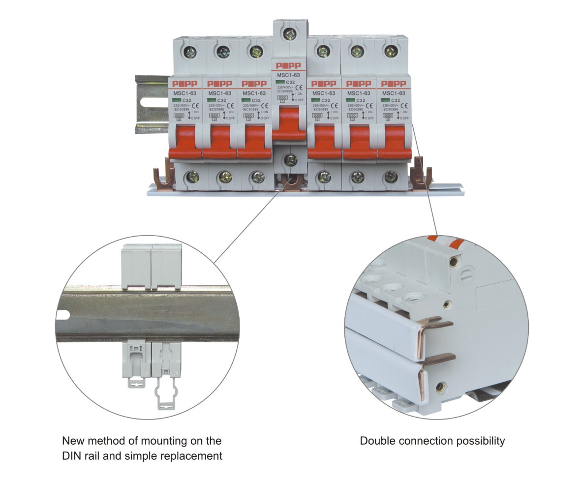 Miniature Circuit Breaker Short Protection Features And Motor Start Stop By The Implementation Of Contactor They Only Serve As A